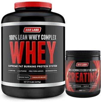 Harga Narlabs Lean whey WHEY COMPLEX Chocolate 5LB + CREATINE MATRIX