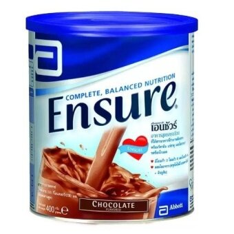 Harga Ensure Chocolate Flavor 400 grams 1 กระป๋อง