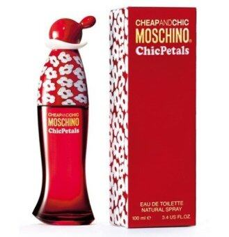 Harga Moschino น้ำหอม Cheap & Chic Chic Petals EDT 100 ml.