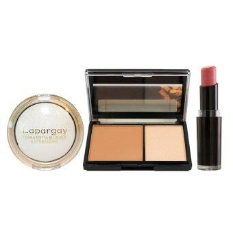 Harga Wet N Wild Lipstick #903 + Highlighter + Eyeshadow Set