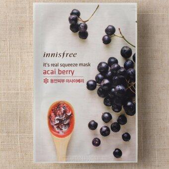 Harga Innisfree It's Real Squeeze Mask Acai Berry 5 แผ่น