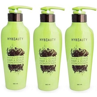 Harga Hylife Hybeauty Vitalizing Hair & Scalp Conditioner 300 ml. (3 ขวด)