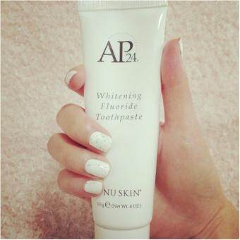 Harga Product details of NuSkin AP24. Whitening Fluoride Toothpaste ยาสีฟัน ฟอกฟันขาว นูสกิน