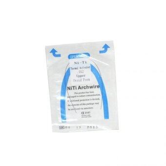 Harga 0.014*180mm upper 1 pack/10pcs Dental Orthodontic NITI Thermal Activated Round Arch Wires