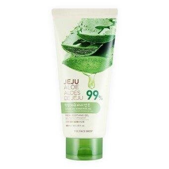 Harga THEFACESHOP JEJU ALOE FRESH SOOTHING GEL