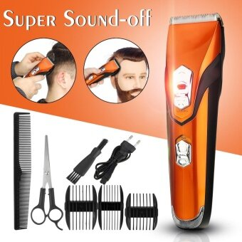 Harga Kemei Hair Trimmer Clipper Cutter Rechargeable Cutting ElectricGrooming Shaver - intl