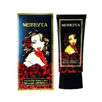 Merrez'Ca Perfection Matte Color BB Cream SPF50/PA++ #21 Light Nodeบีบีแมท เมอร์เรซกา Merrezca