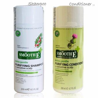 Smooth E Purifying Shampoo 250 ml.+SMOOTH E PURIFYING CONDITIONER FOR SENSITIVE SCALP 200 ml.