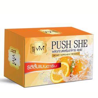 ViVi PUSH SHE (Marche prizes Vivi spring) water maker flavormandarin. 1 BOX