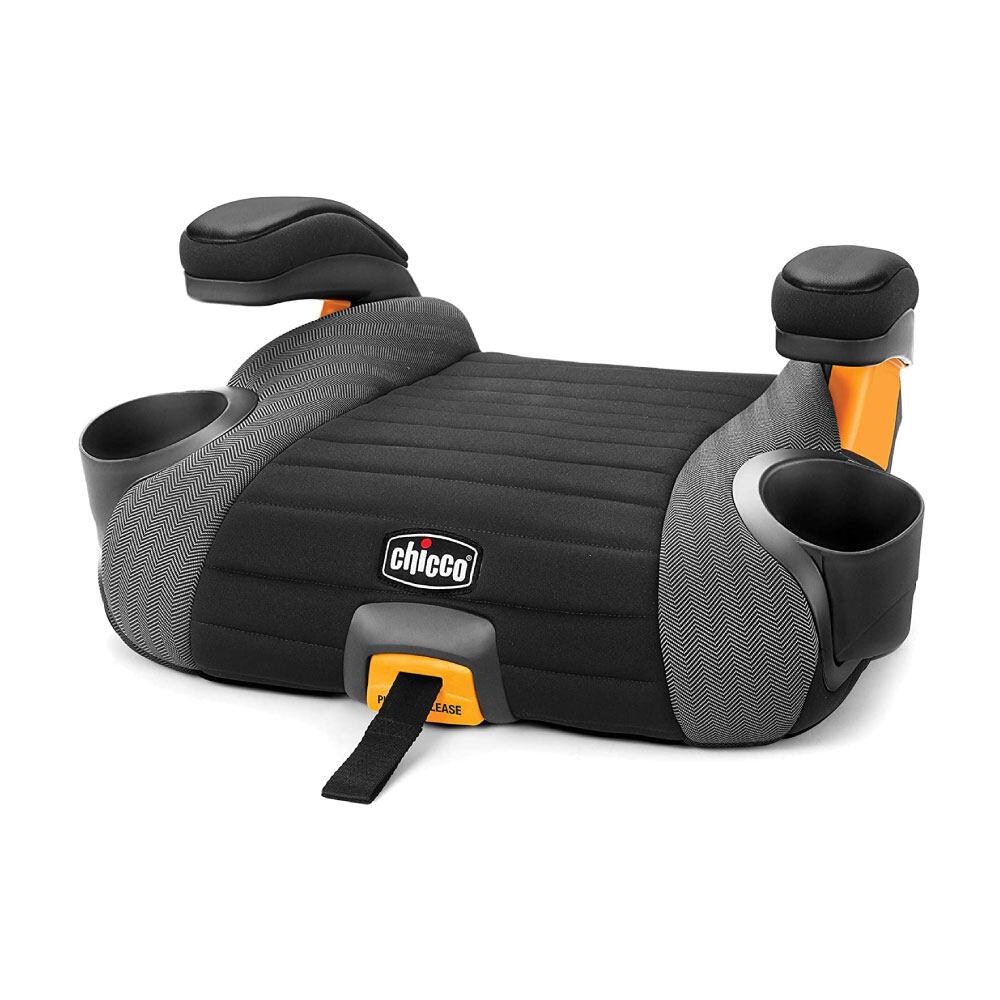 Chicco คาร์ซีท Go Fit Plus Backless Booster Seat คาร์ซีทแบบเบาะนั่งเสริม สำหรับเด็กน้ำหนัก 18-49.89 กิโลกรัม มาพร้อมระบบล็อก Isofix เพื่อเพิ่มความกระชับแน่นมากขึ้น