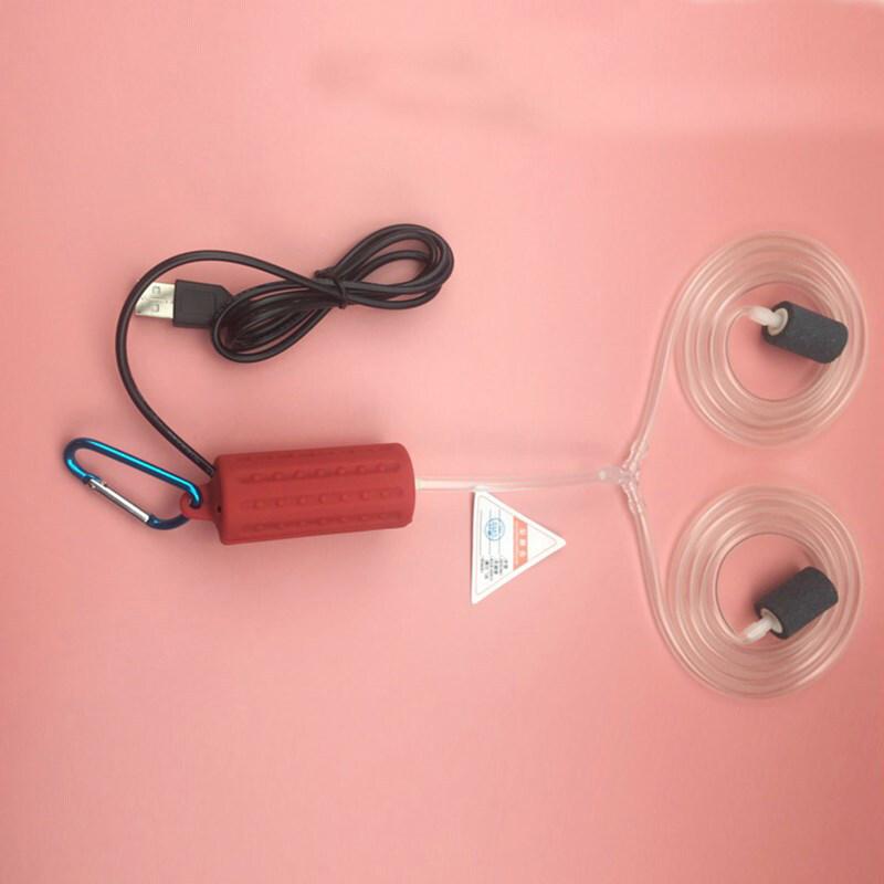 【Ready stock+COD】สต็อก USB Air Bubble Aerator ปั๊ม Hydroponic ออกซิเจนสำหรับพิพิธภัณฑ์สัตว์น้ำตู้ปลา ปั๊มออกซิเจน เครื่องเติมอากาศ เครื่องออกซิเจนตู้ปลา