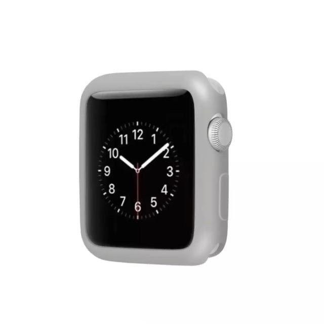 พร้อมส่งจากไทย เคส Apple Watch สำหรับ IWatch series SE/6/5/4/3/2/1 Silicone Case Apple Watch 38/40mm & 42/44mm