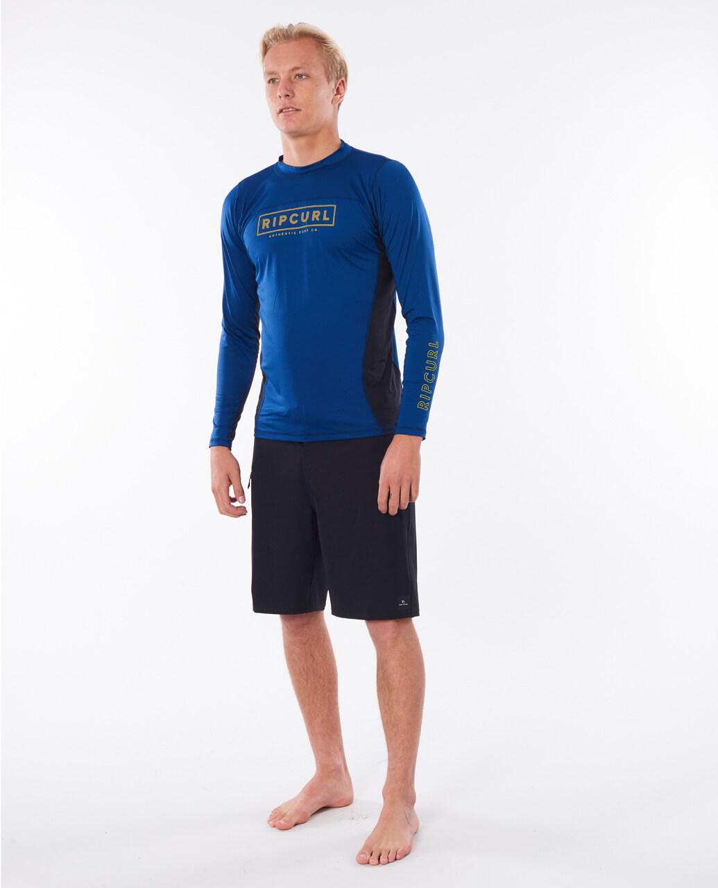 RipCurl เสื้อว่ายน้ำ กันUV WLYYOM DRIVE RELAXED LS UVT P20