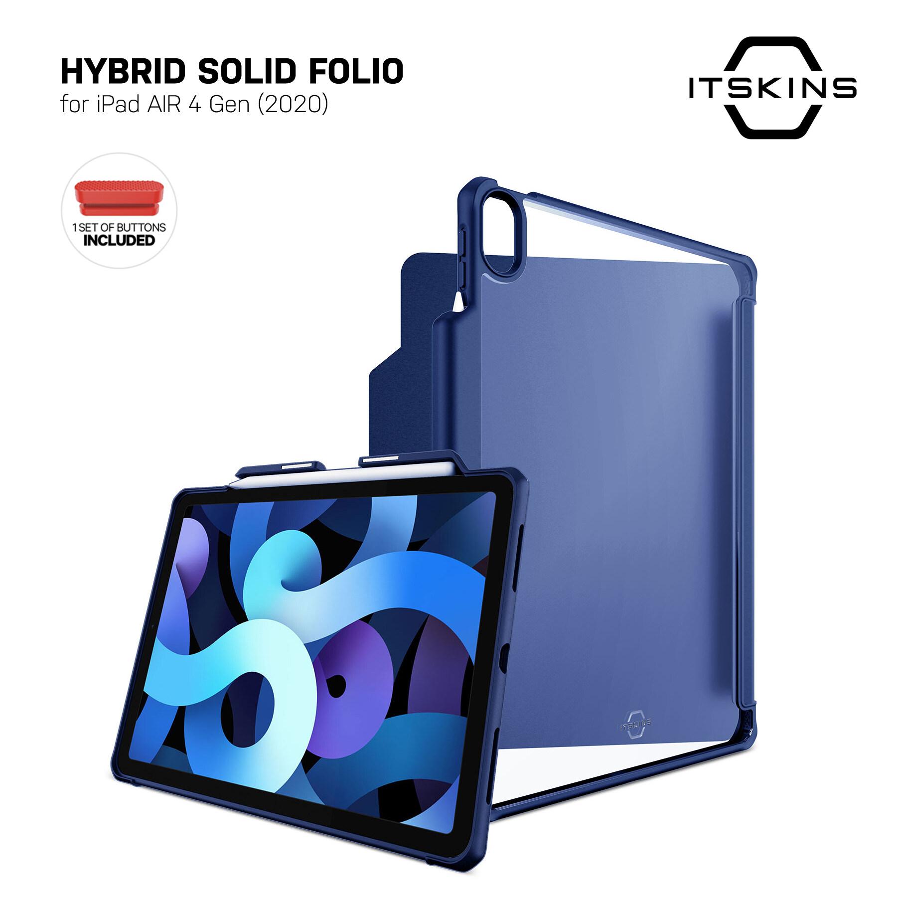 Itskins Hybrid Folio Case For Ipad Air 4 Gen (2020) - เคส.