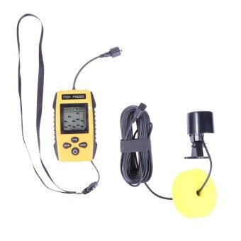 100m 200KHz Portable Underwater Sonar Fish Finder Detector CamTransducer - intl