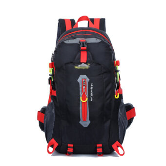 40L Outdoor Sports Riding Cycling Hiking Camping BackpackRucksack(Black)