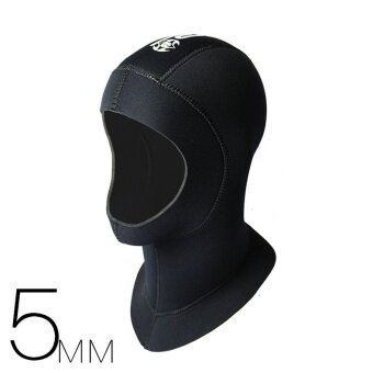 5mm Neoprene Diving Cap Warm Snorkeling Diving Hat Diving HoodDiver Cap - intl