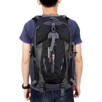 Free knight 005 Outdoor Sports Backpack Hiking Camping WaterproofNylon Bag 40L(Black)