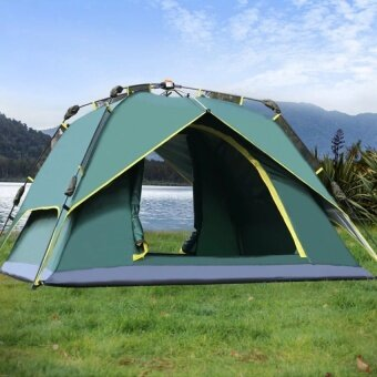 Generic Outdoor Tent 3-4 Person Camping&Hiking Tents With CarryBag - intl