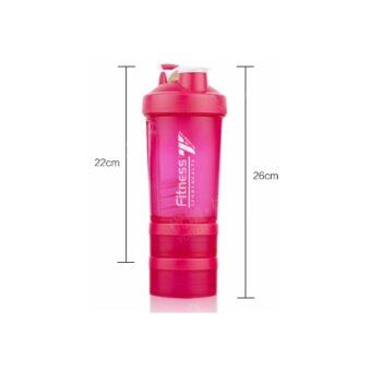 Harga เชคเกอร์ FITNESS with Spring Ball 550 Ml.