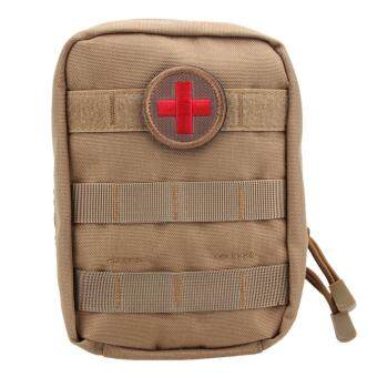 Harga Tactical First Aid Bag Molle Medical EMT Pouch Outdoor Pack (Brown) - intl