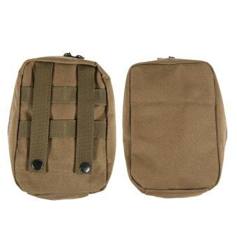 Harga Airsoft Molle Tactical Medical Military First Aid Sling Pouch(Khaki) - intl