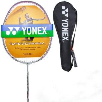 Harga Yonex Nanoray 10F NR Badminton racket yy 4U super light offensive Racquet 2017 FULL Carbon Fiber - intl