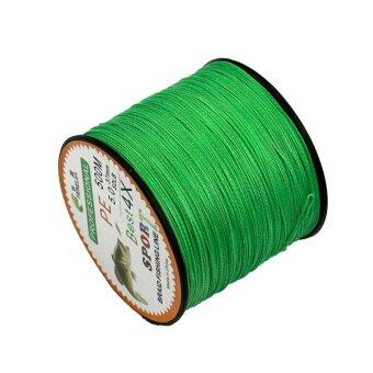 Harga 4 Strands Super Strong Durable PE Braided Fishing Line 500M Green 6.0 - intl