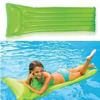 Harga Adult Pool Floats Pool Mat Inflatable Water Bed Floating Water Air Bed Water Floating Bed Swimming Pool Floating Bed - intl