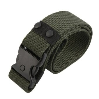 Harga OH Navy Wide Rigger Army Belt Duty Gear Tactical Military Combat Strap Rescue US armygreen