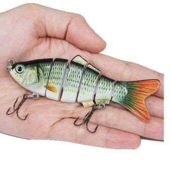 Harga Fishing Wobblers Lifelike Fishing Lure 6 Isca Artificial Lures Fishing Tackle - intl