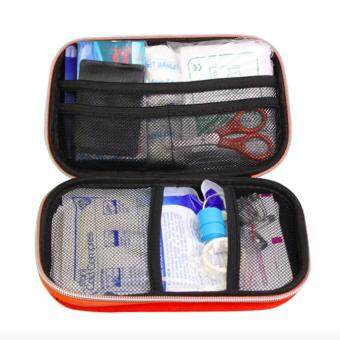 Harga First Aid Kit,18PCS Multifunctional Lightweight and Durable Medical Supplies Kit (Red) - intl