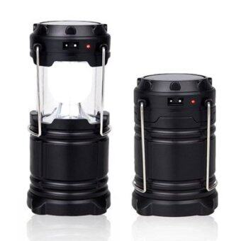 Harga RICHE RECHARGEABLE CAMPINGLANTERN GL 6LED G-85 (Black)