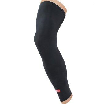 Harga Kuangmi Sport Breathable Silk Knee Sleeves - Black/L