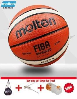 Molten GG7X Basketball Ball PU Materia Official Size7 Basketball indoor and outdoor Ball Training Equipment Free