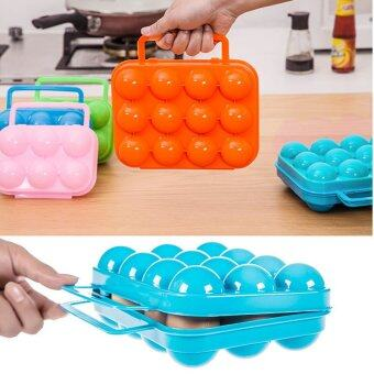 Harga Portable Holder Carrier Egg Storage Plastic Waterproof OutdoorCamping - intl