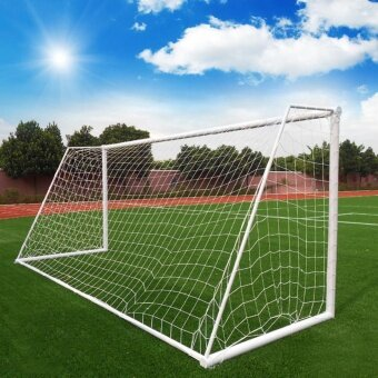 Practice Football Soccer Goal Post Net Outdoor Sport TrainingPractice Tool(White) - intl
