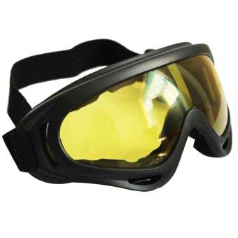 X 400 Goggles Windproof UV Protection Glasses Outdoor Sports Sunglasses Yellow Lens
