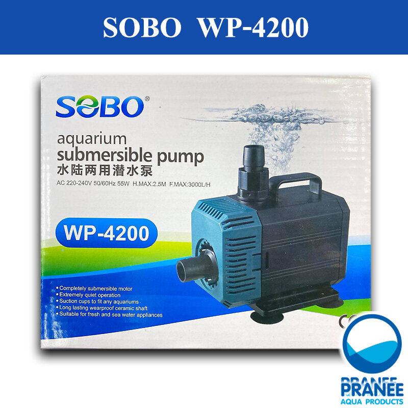 SOBO-WP-4200 ปั๊มน้ำตู้ปลา ใช้ต่อเข้าถังกรอง