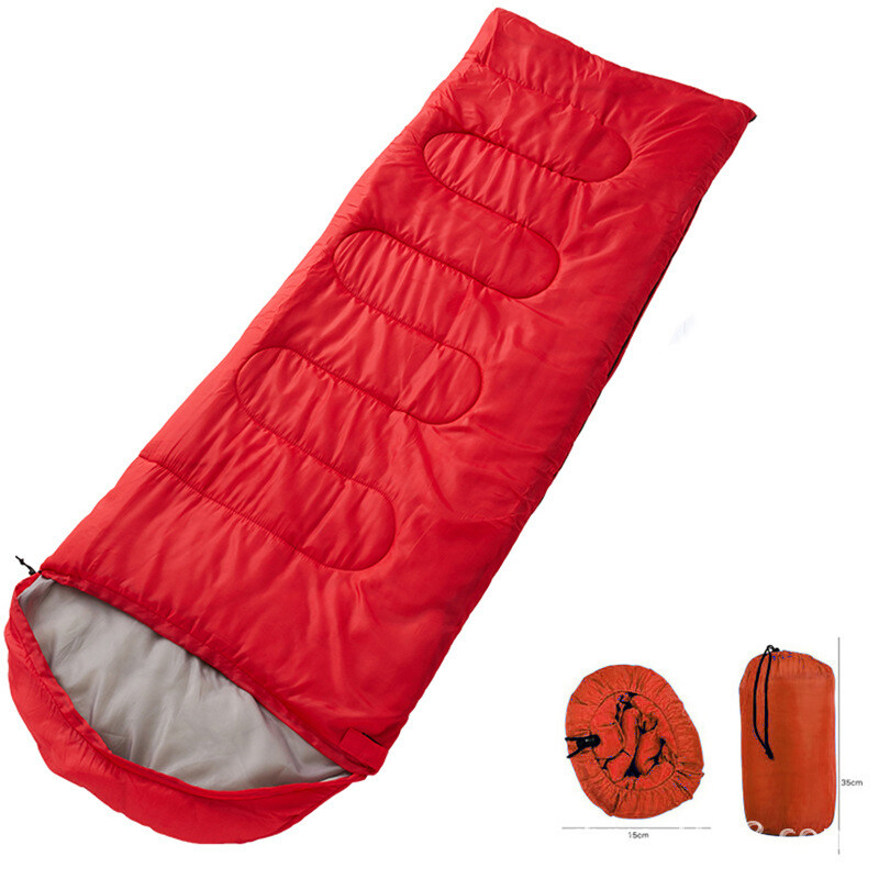 ถุงนอน แบบพกพา ถุงนอนปิกนิก Sleeping bag ขนาดกระทัดรัด น้ำหนักเบา พกพาไปได้ทุกที่ ถุงนอนพกพา ถุงนอนกันหนาว Easy to carry around รวมถุงกันน