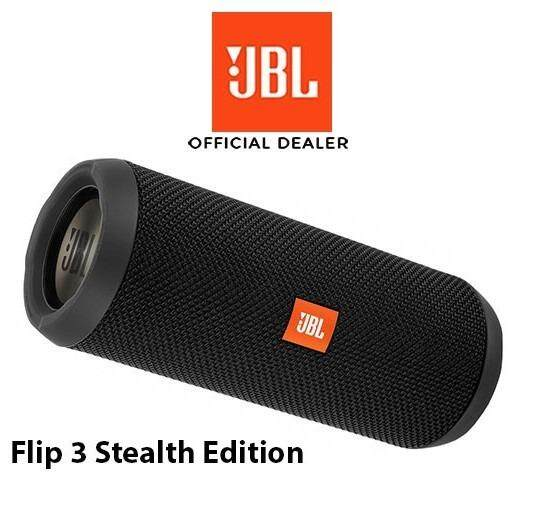 Jbl Flip 3stealth รับประกันศูนย์มหาจักร 1ปี 3เดือน ของแท้ 100% ถ้าเป็นของปลอมยินดีคืนเงิน.