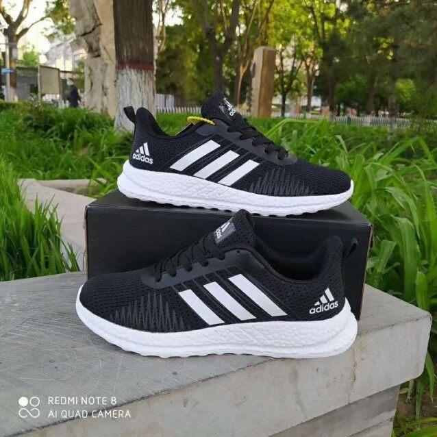 【 Shoe King 】 Giày thể thao popcorn cho nam và nữ dễ dàng thông thoáng Giày chạy bộ đôi Hàn Quốc 2020 bốn mùa giày chạy bộ nhẹ giản dị giá rẻ