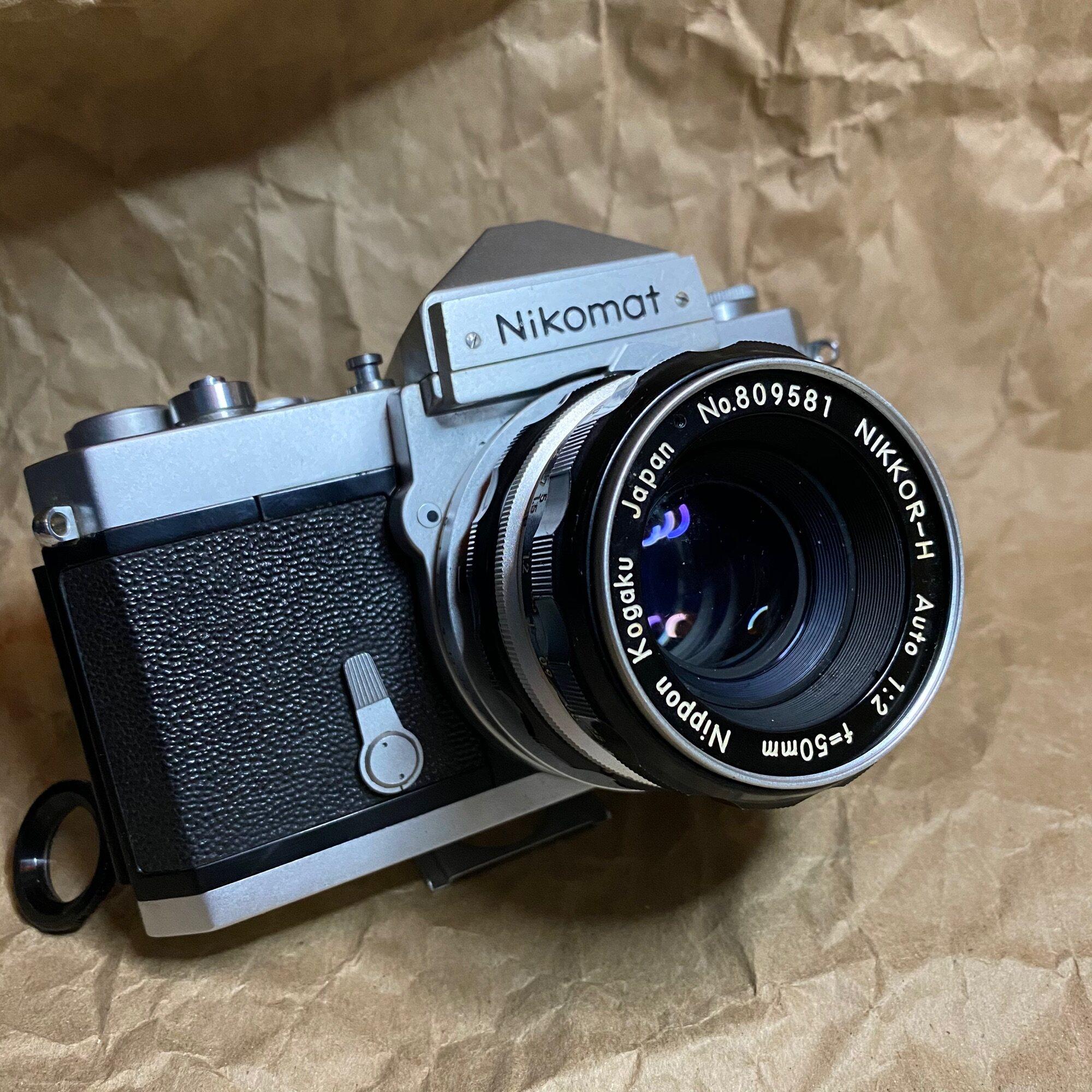 กล้องฟิล์ม Nikon Nikomat Ftn 50mm. 2.0.