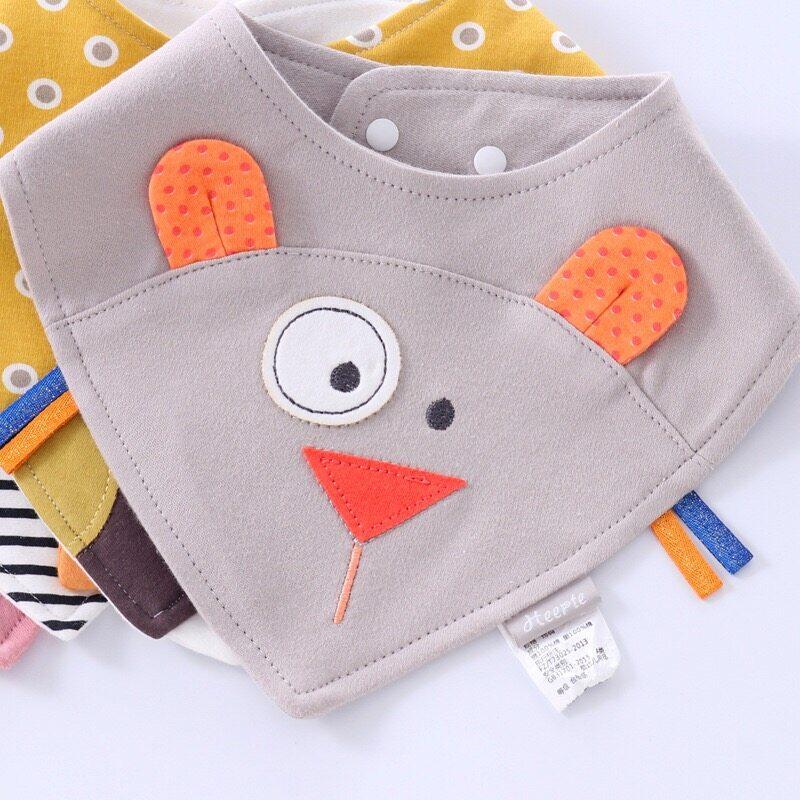 Babyonline(R122)H2ผ้าซับน้ำลายรูปการ์ตูนสำหรับเด็ก