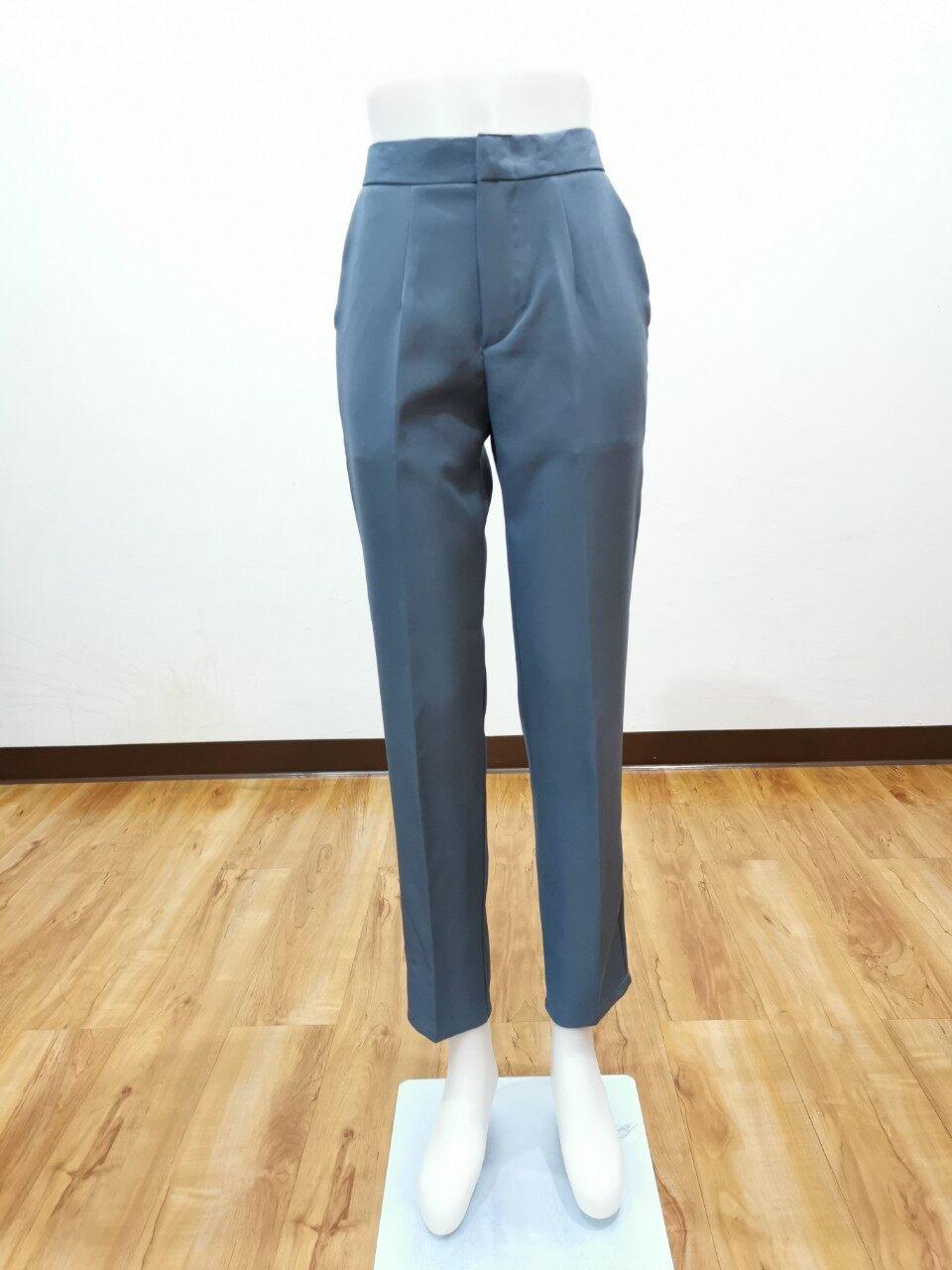???8 สี กางเกงทรงสแล็ค กางเกงทรงกระบอกเล็ก? กางเกงผู้หญิงขายาว กางเกงใส่ทำงาน รุ่นขายดี by SaNe Shop