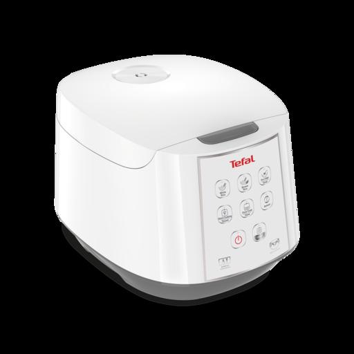 RK732166 หม้อหุงข้าวดิจิตอล TEFAL ความจุ 1.8 ลิตร กำลังไฟ 750วัตต์ เทคโนโลยีAI อัจฉริยะการหุงข้าว 8โปรแกรมการใช้งาน รับประกัน 2 ปี