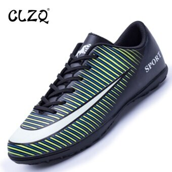 CLZQ Men's Football Shoes Soccer Shoes Sneakers Green - intl
