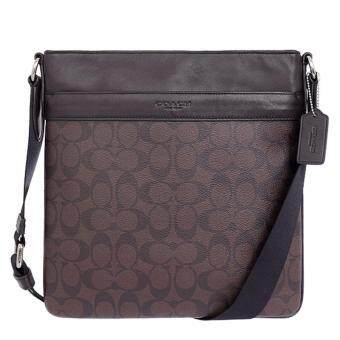 COACH กระเป๋า CHARLES CROSSBODY IN SIGNATURE F54781 (MAHOGANY/BROWN)
