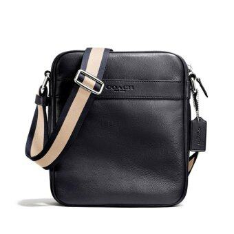 COACH กระเป๋า CHARLES FLIGHT BAG IN SMOOTH LEATHER F54782 (MID)