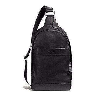 COACH กระเป๋า CHARLES PACK IN SMOOTH LEATHER F54770 (BLACK)